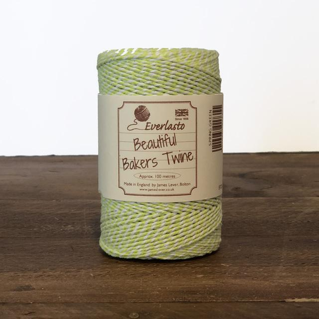 Everlasto Baker's Twine - Spring Green - The Village Haberdashery