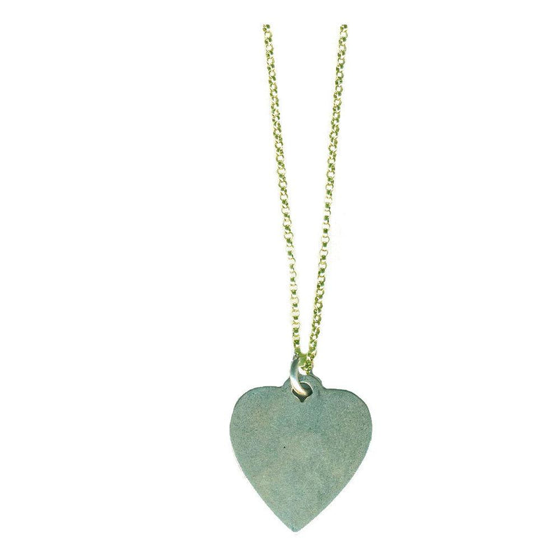 Heart Dog Tag Necklace | Giles & Brother