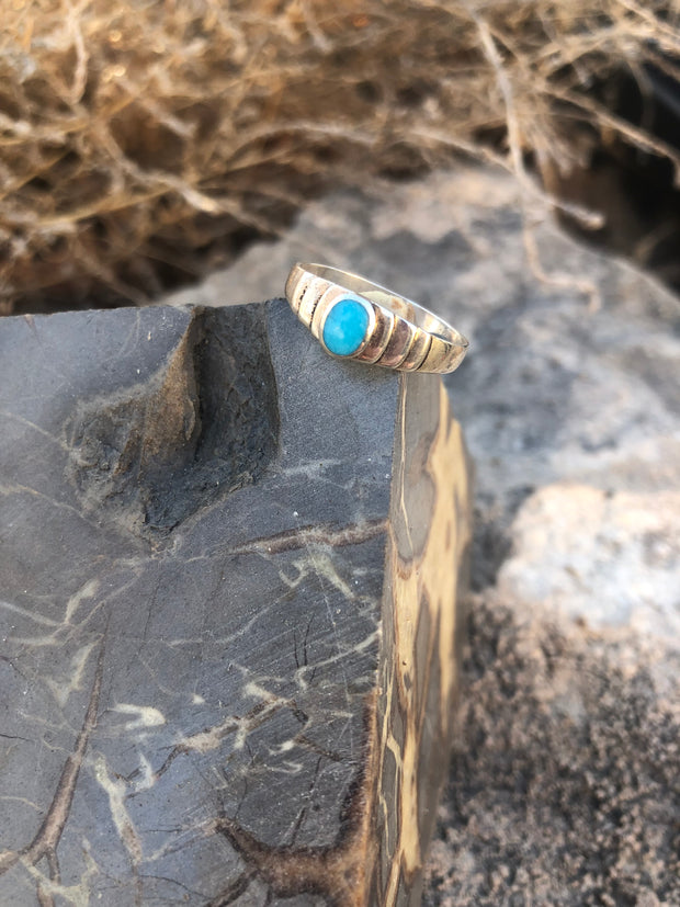 Turquoise Findings Rings