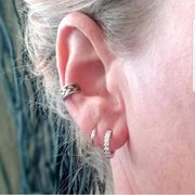 Sterling Silver Ear Huggers