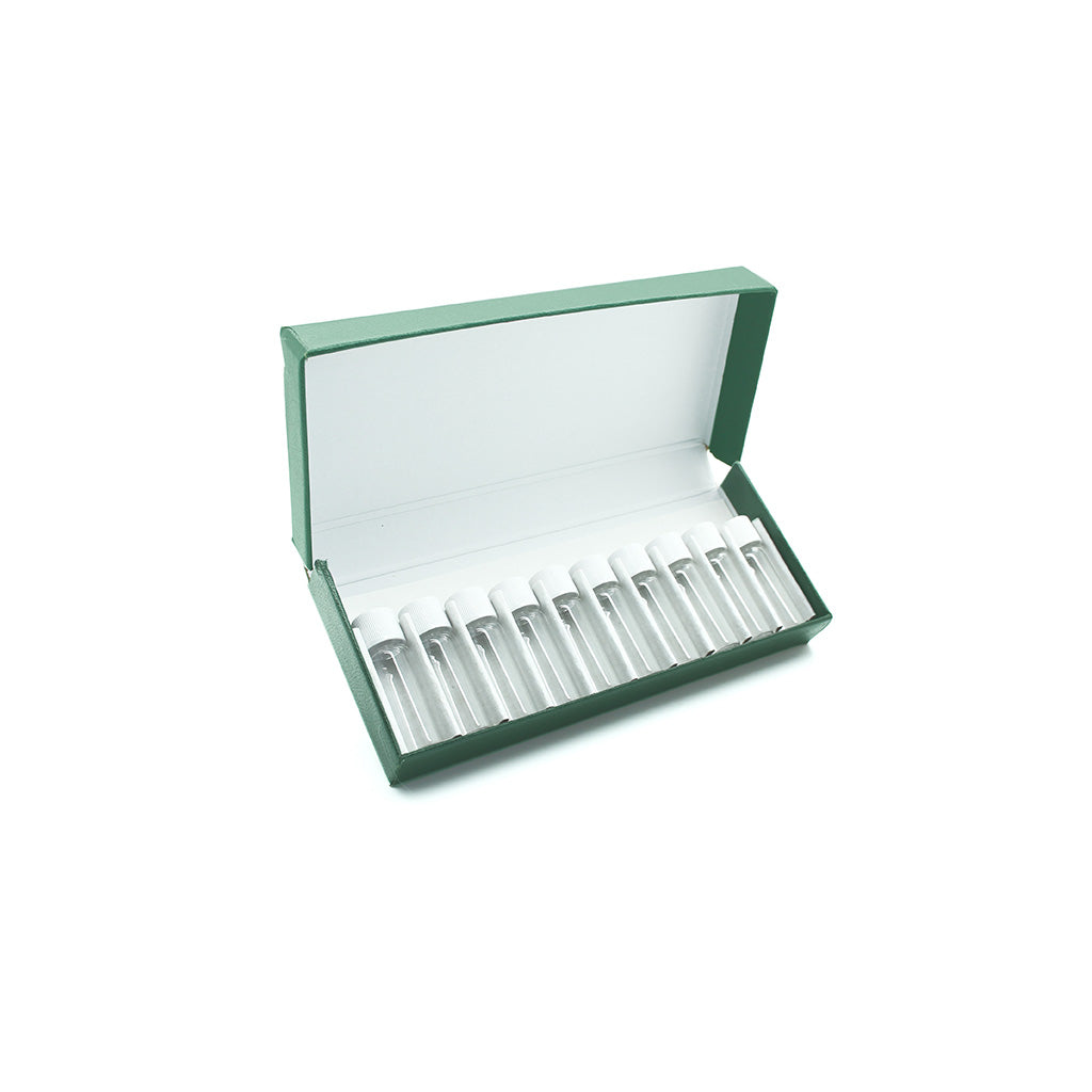 Green Remedy Box with 10 x 2g/1.75ml Screw Cap Vials