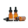 15ml Amber Moulded Glass Dropper Bottle