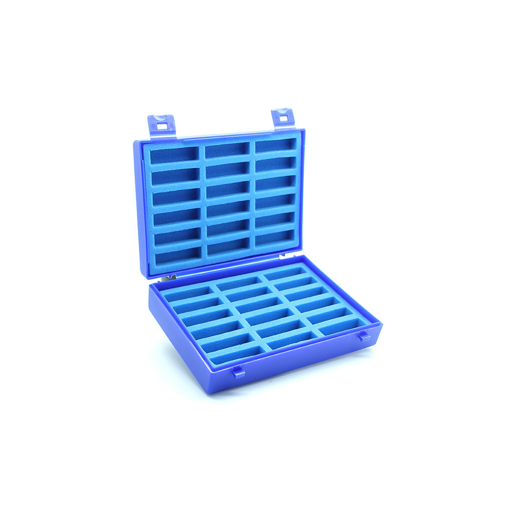 Plastic Case with Foam Inserts for 36 x 2g vials
