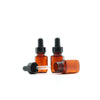 16ml Amber Plastic Bottle with Glass Pipette Dropper