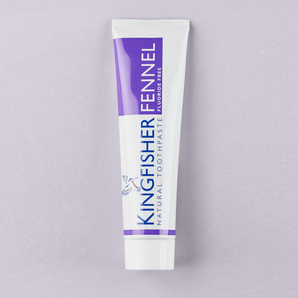 Kingfisher Fennel Toothpaste (Fluoride Free) – 100ml