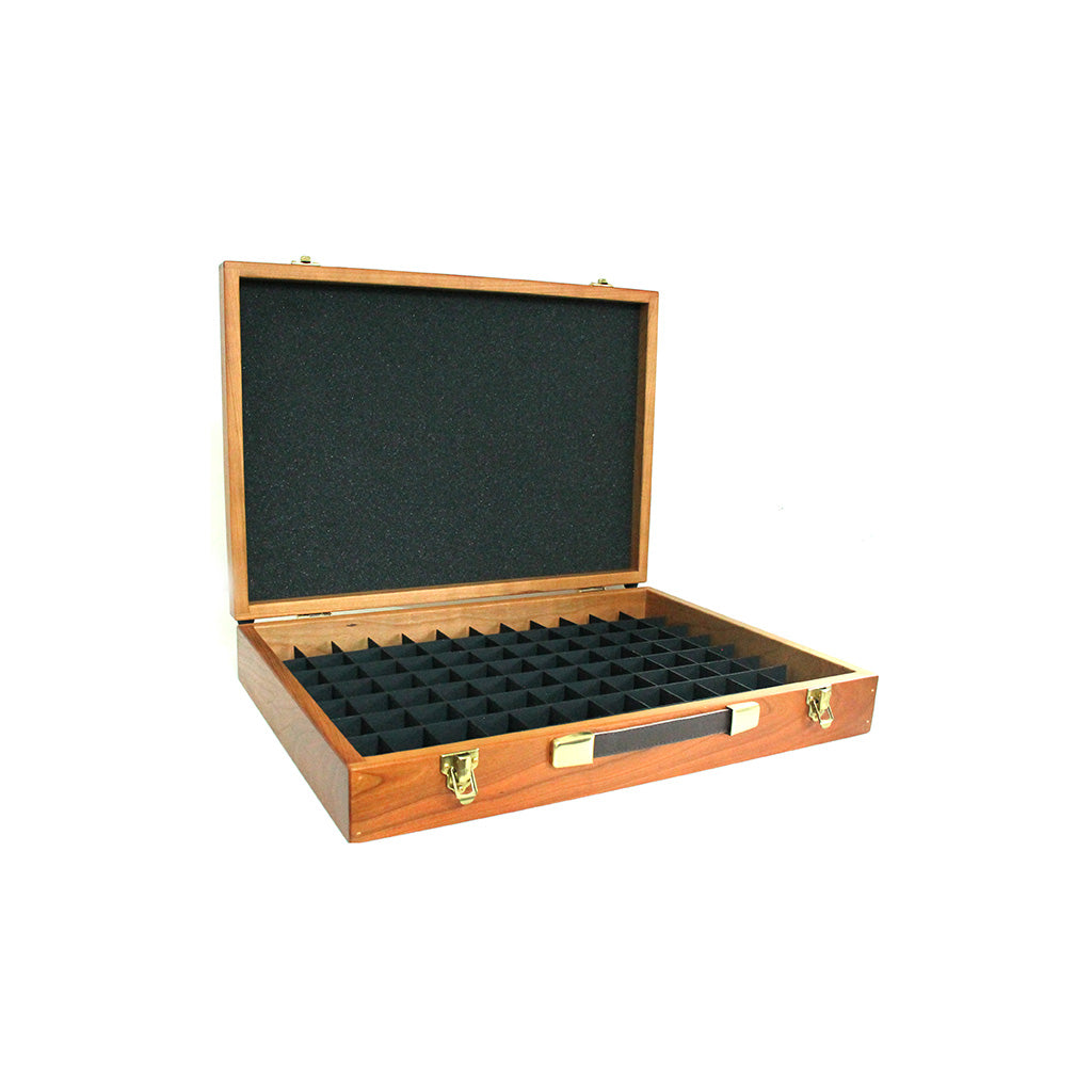 Cherrywood Case with 37 mm Grid System
