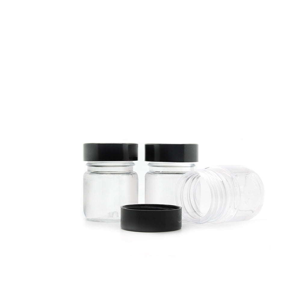 20ml Clear Plastic Jar with Lid