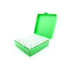 Green Plastic Box with 100 x 2g/1.75ml Push-in Plug Vials