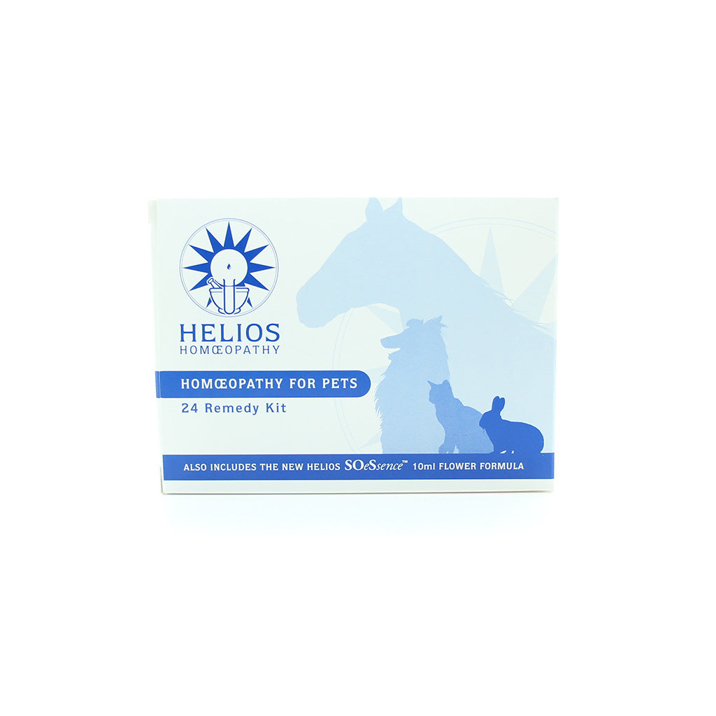 Helios First Aid kit for Pets- 24 remedies in 30c potency