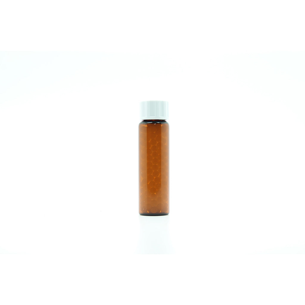 8g/10ml Tubular Glass Bottles filled with 3mm Sucrose Pillules x 50