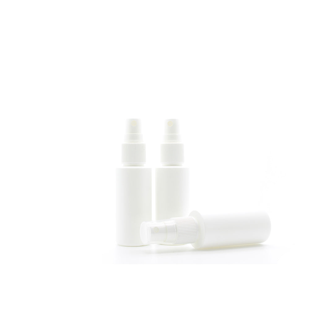 50ml White Plastic Pump Action Spray Bottle
