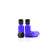 15ml Blue Moulded Glass Screw Cap Bottle with Tamper Evident Cap