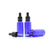 30ml Blue Moulded Glass Dropper Bottle with Tamper Evident Cap