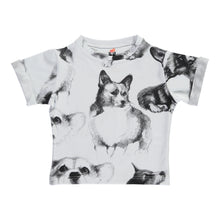 Load image into Gallery viewer, Corgi Sketches Print T-shirt