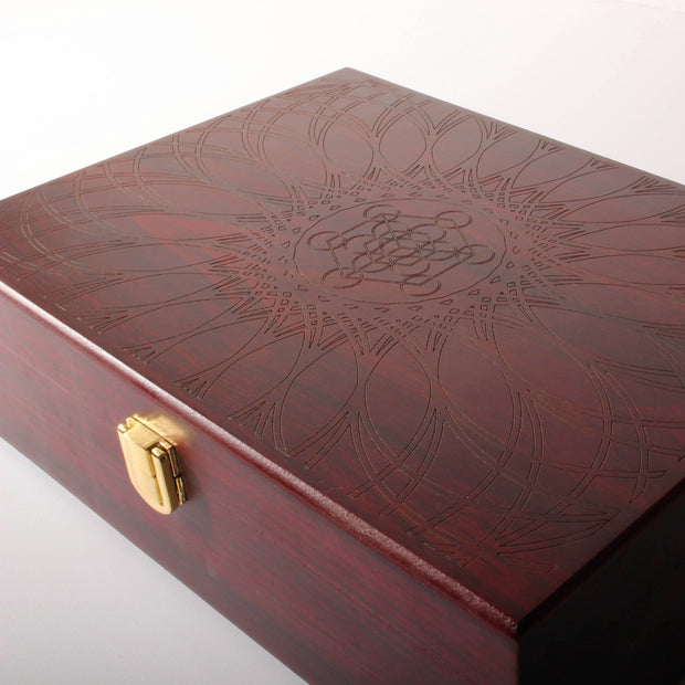 Metatron's Cube - Jewelry / Stash / Pin Boxv