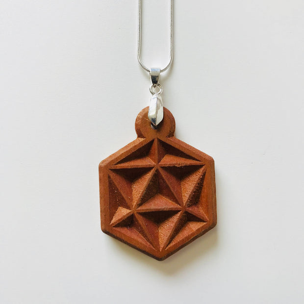Icosahedron Prisim - Necklace