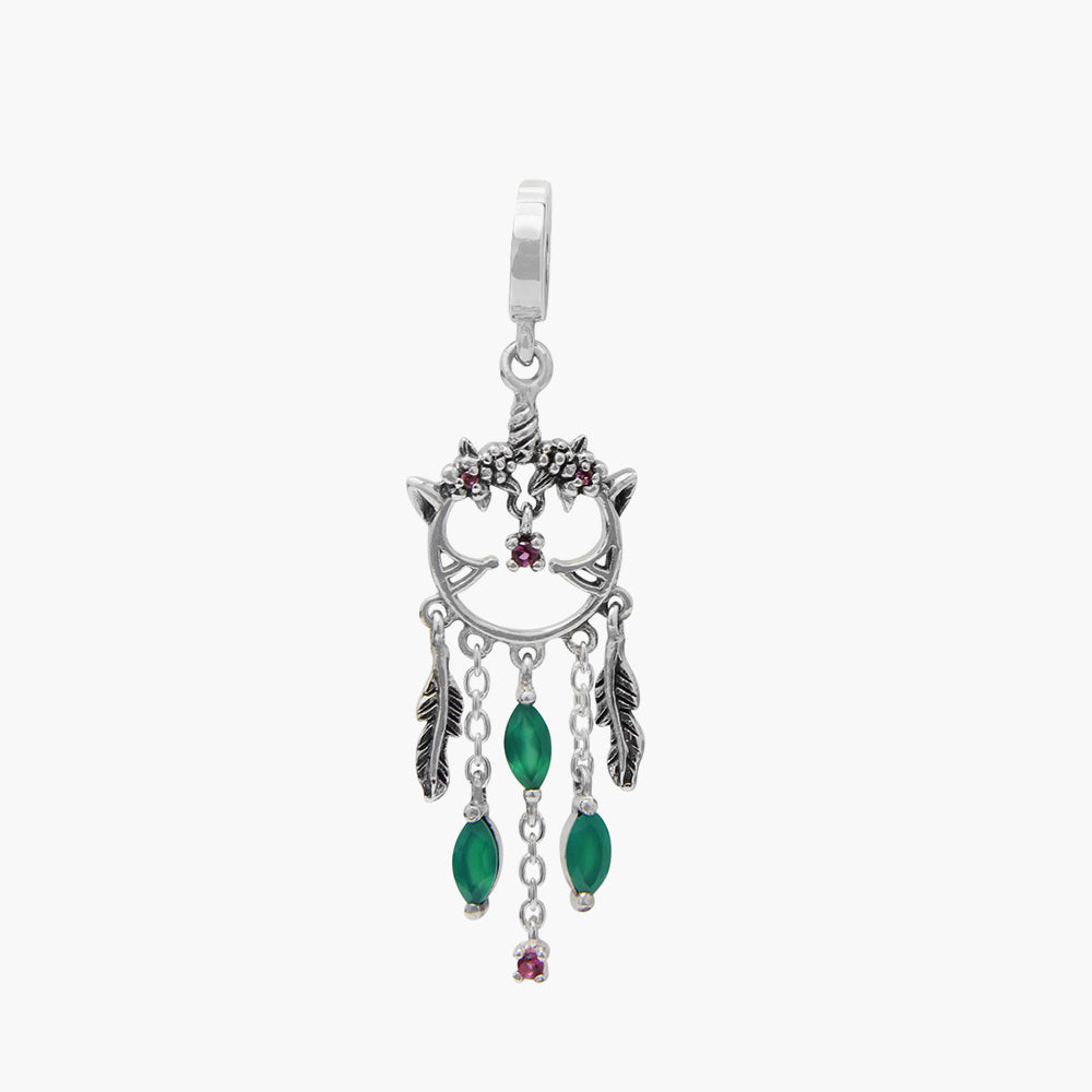 Spirit Dream Catcher Dangle Bead
