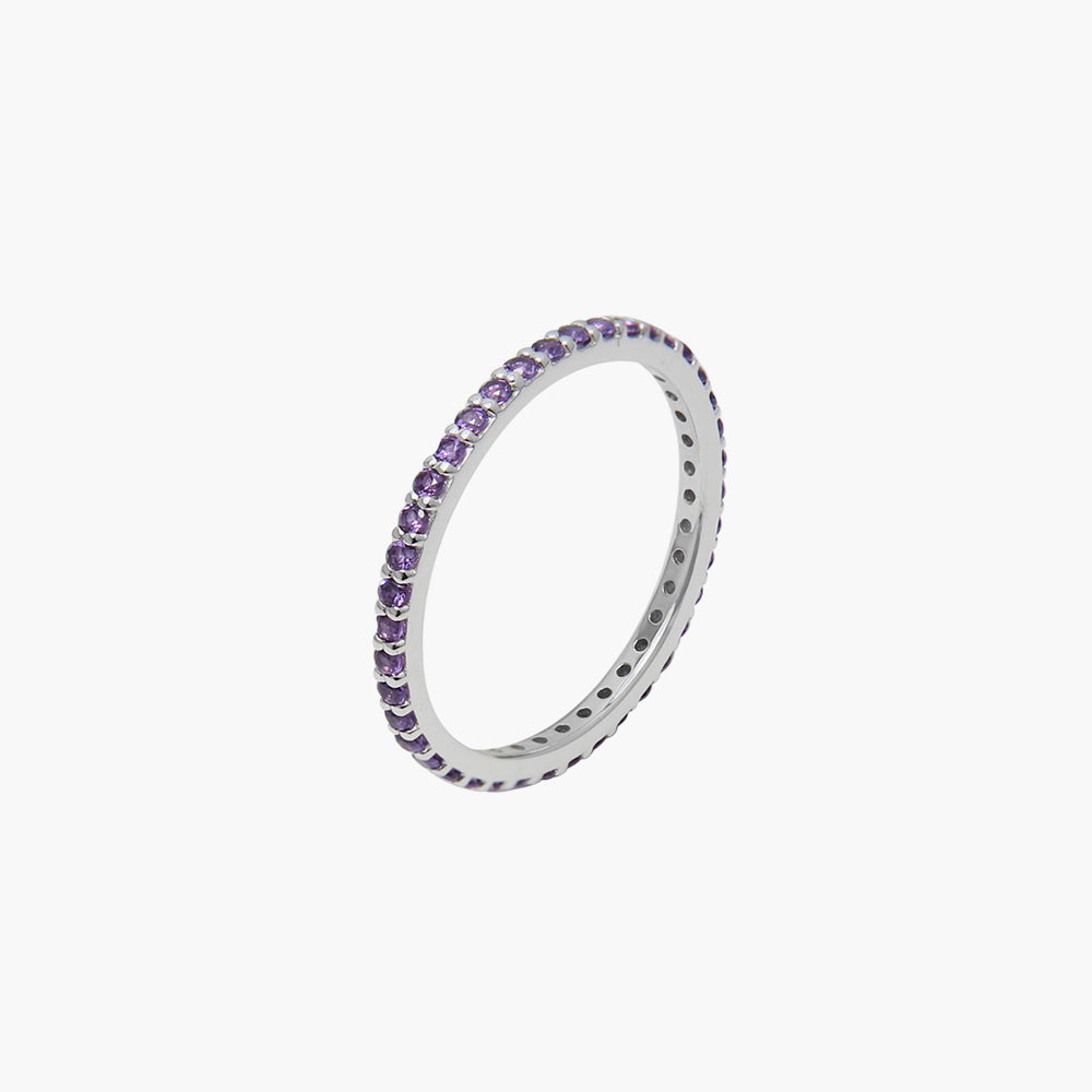 Rainbow Purple Ring
