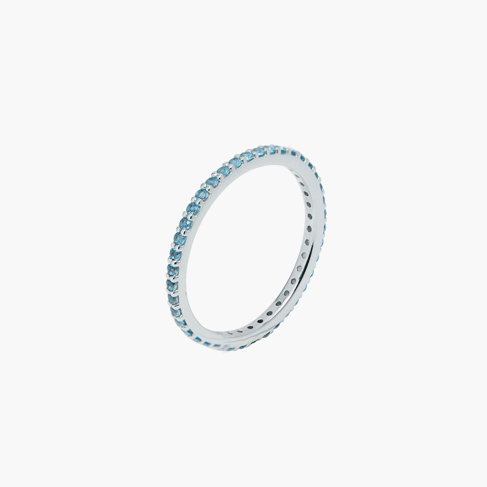 Rainbow Blue Ring