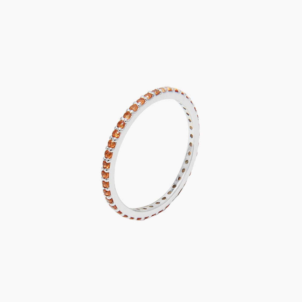 Rainbow Orange  Ring
