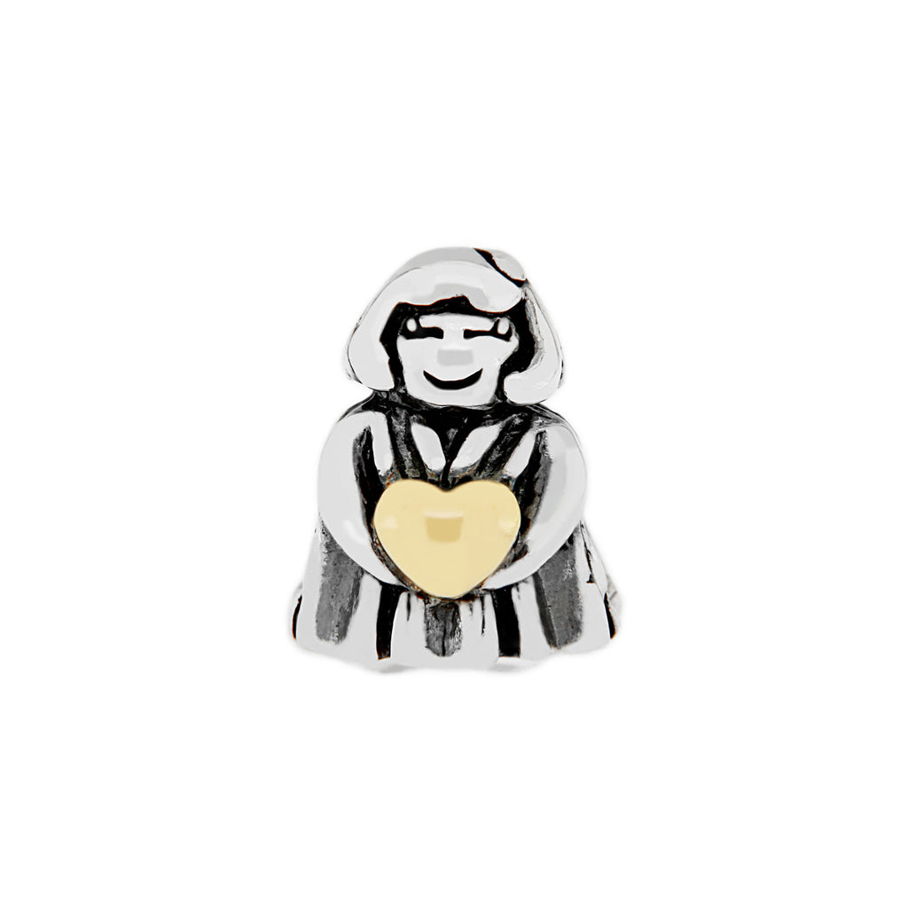Two-tone Angel Bead
