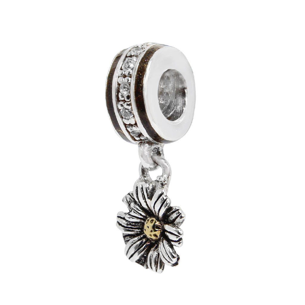 Two-tone Flower Bead