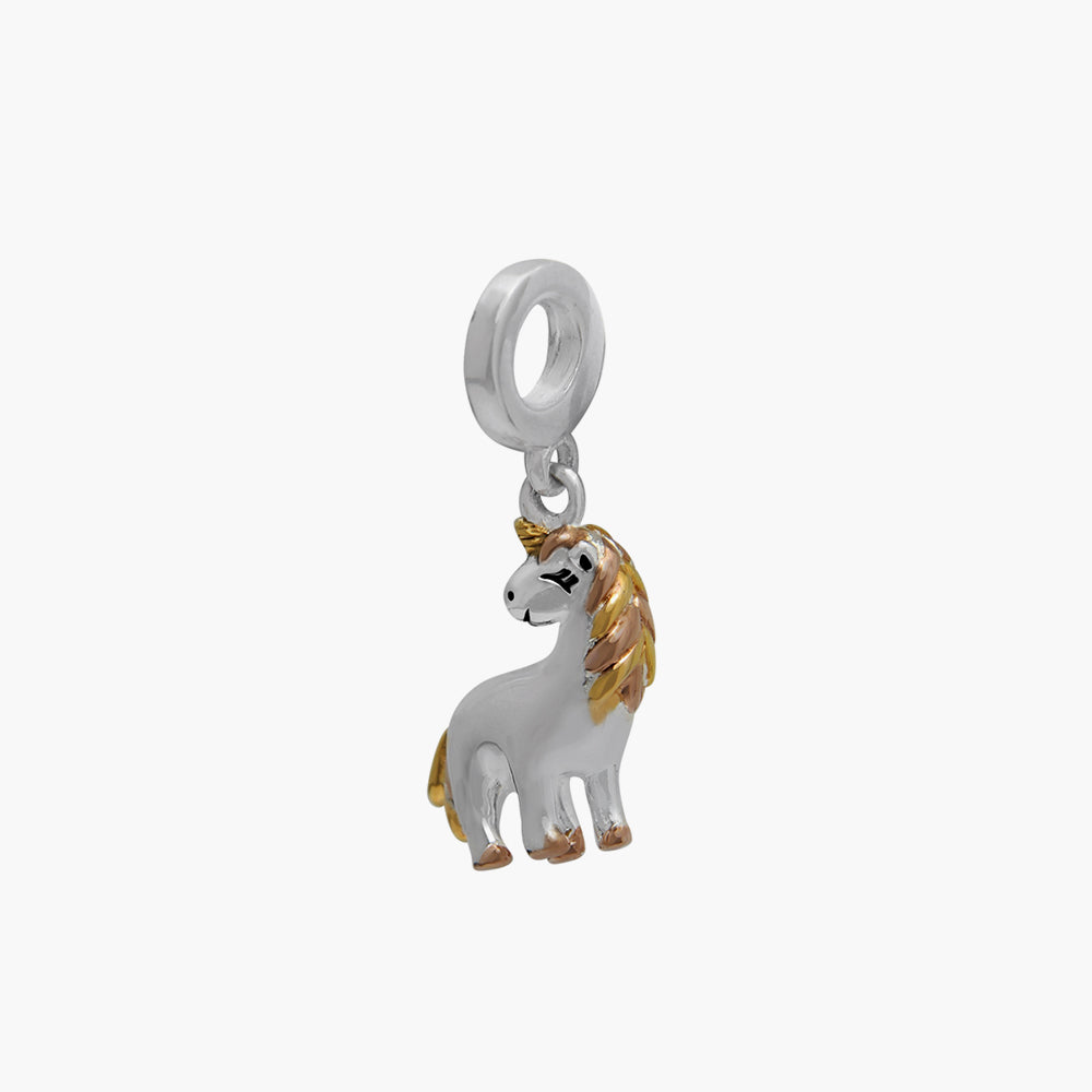 Two-tone Unicorn Bead