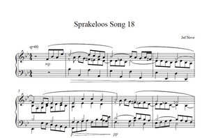Sprakeloos Song 18