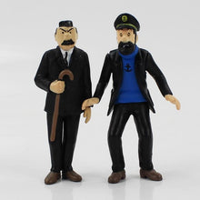 Load image into Gallery viewer, The Adventures of Tintin Collectible 6-Pack Action Figures