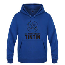 Load image into Gallery viewer, French Tintin Men's Pullover Fleece Hooded Sweatshirts