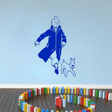 Load image into Gallery viewer, Tintin And Snowy Vinyl Wall Sticker