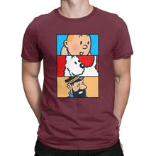 Load image into Gallery viewer, Soft 100% Cotton T-Shirt - Tintin Snowy Haddock