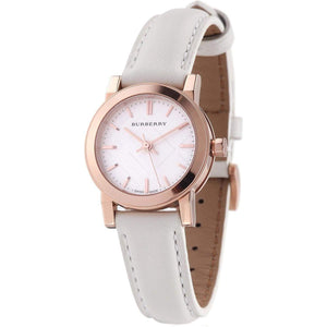 Burberry BU9209 The City Rose Gold Swiss Made Leather Womens Watch
