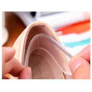 Gel Silicone Heel Grip Back Liner Shoe Insole Blister Foot Care Protector