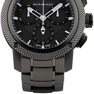Burberry BU9801 Watch Endurance Black Dial Stainless Steel Case Swiss Movement