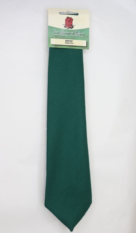 Mens House of Edgar Woollen Tie - Ancient Green