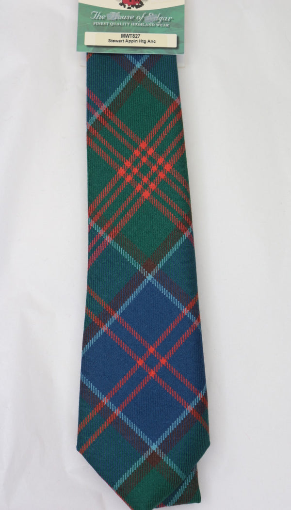 Stewart of Appin Ancient Hunting Tartan Tie - anderson-kilts