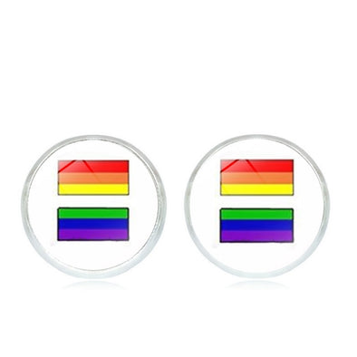 LGBTQ Pride Stud Earrings