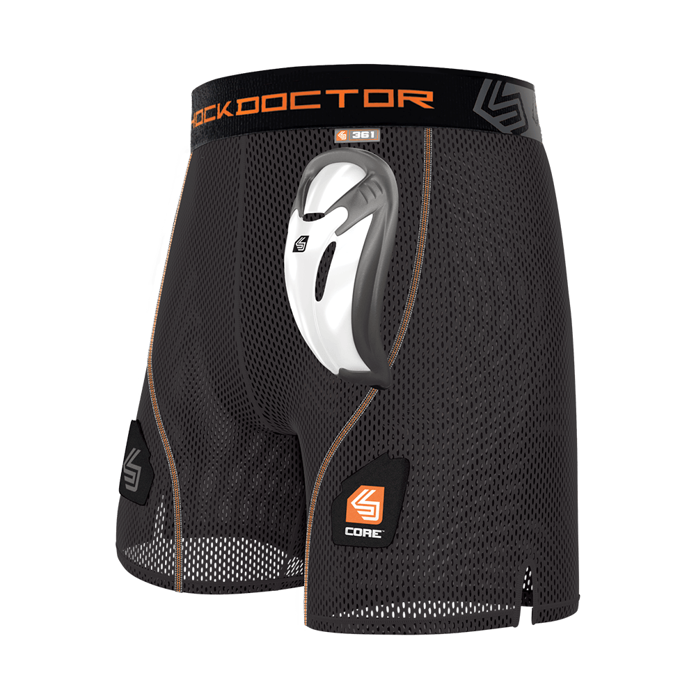 Core Loose Hockey Short with Bio-Flex Cup
