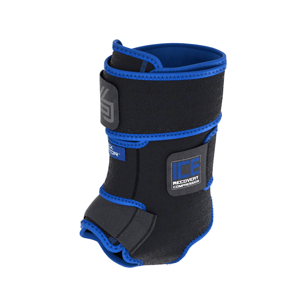 Ice Recovery Compression Ankle Wrap
