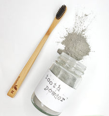 Ecofriendly Bamboo Toothbrush and Tooth powder