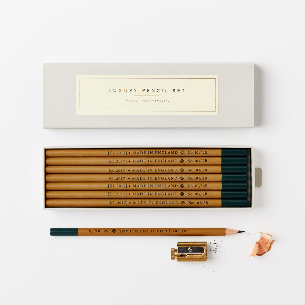 Katie Leamon Pencil Set Mustard