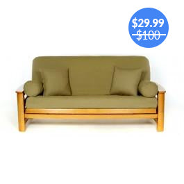 Olive Sage Green Futon Cover