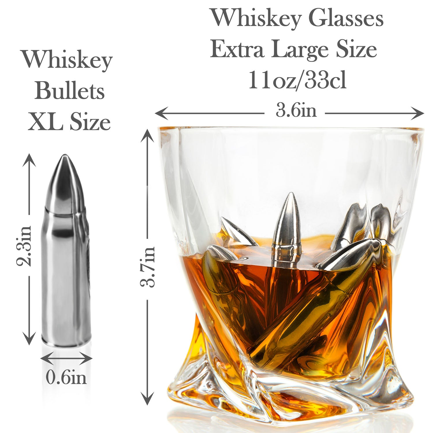 Whiskey Bullets Gift Set