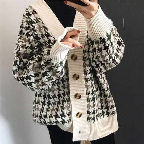 Autumn Winter Sweaters Jumpers Women Jackets