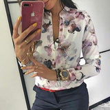 Women Elegant Casual Blouse