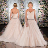 New Design A-line Tulle Wedding Dress