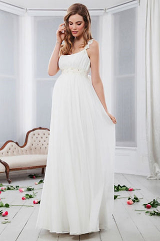 Pregnant woman wedding dresses