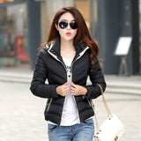 New Winter Jacket Women Hooded