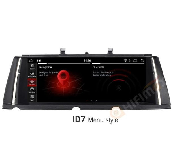 android bmw 7 series F01 F02 navigation gps with id7 menu